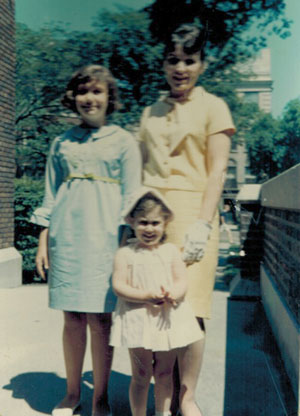 Laura, Susan, & Mother when Laura was three